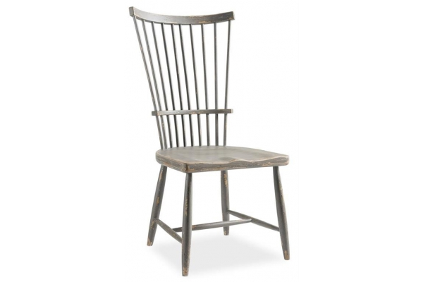 Large image of Hooker Furniture Dining Room Alfresco Marzano Windsor Side Chair - 6025-75312-95