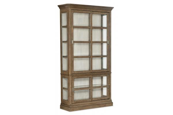 Large image of Hooker Furniture Dining Room Montebello Sliding Door Display Cabinet - 6102-75906-80