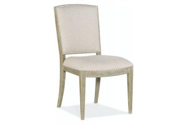 Large image of Hooker Furniture Surfrider Carved Back Side Dining Chair (Each) - 6015-75411-80