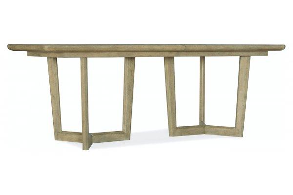 Large image of Hooker Furniture Surfrider Rectangle Dining Table - 6015-75217-80