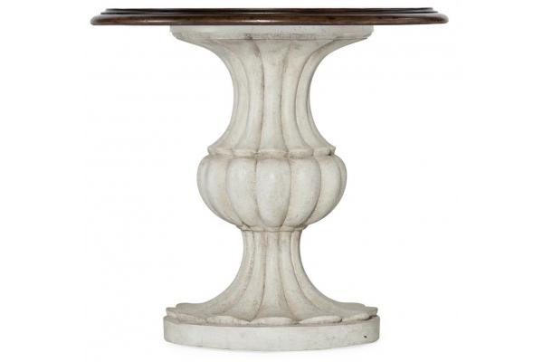 Large image of Hooker Furniture Living Room Vera Cruz Round End Table - 6005-80116-01