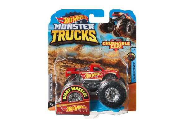 Large image of Hot Wheels 1:64 Collection Monster Truck (Styles May Vary) - MTTFYJ44