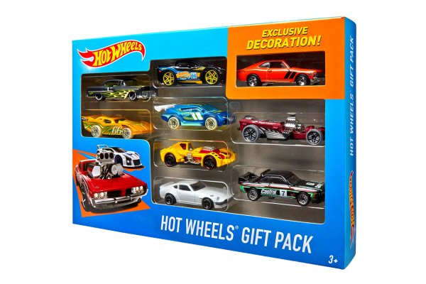 Large image of Hot Wheels 9-Car Pack (Styles May Vary) - MTTX6999
