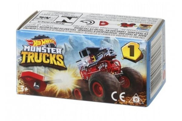 Large image of Hot Wheels Mini Monster Truck (Styles May Vary) - MTTGPB72