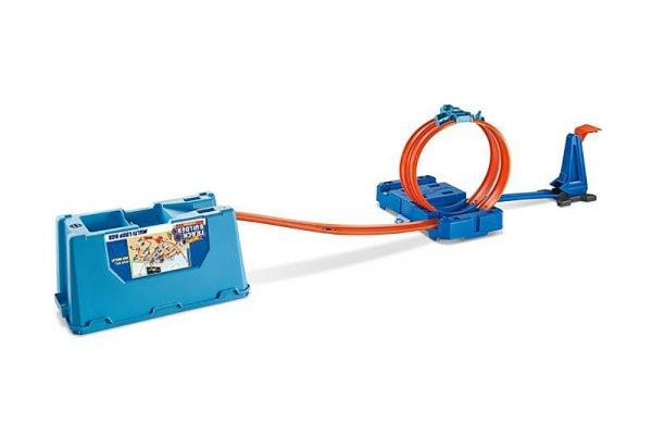 Large image of Hot Wheels Track Builder Multi Loop Box - MTTFLK90