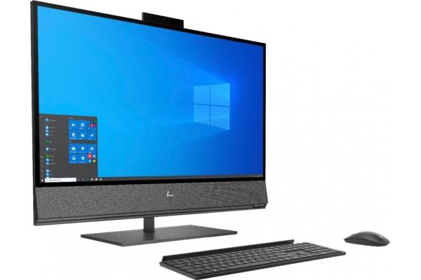 Large image of HP Nightfall Black ENVY All-In-One Desktop Computer Intel i7-10700 32GB RAM 1TB SSD, NVIDIA GeForce RTX 2070 - 32A1050