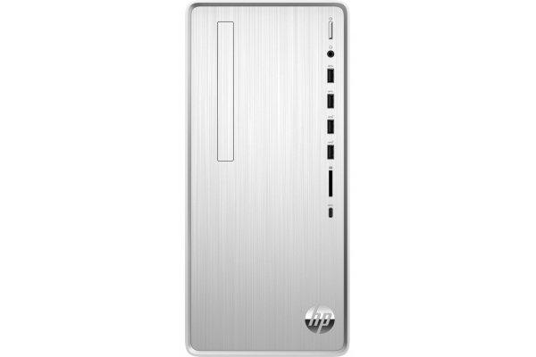 Large image of HP Pavilion Silver Desktop Computer Intel i5-9400 8GB RAM 1TB HDD + 256GB SSD, Intel HD Graphics 630 - TP010019