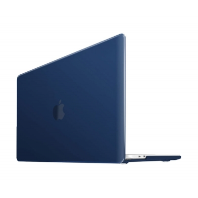 """iBenzer Neon Party Macbook Pro 16"""" Touch Bar & None Touch Bar Navy Blue Case"""