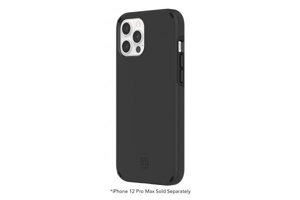 Large image of Incipio Duo Black Phone Case for iPhone 12 Pro Max - IPH-1896-BLK