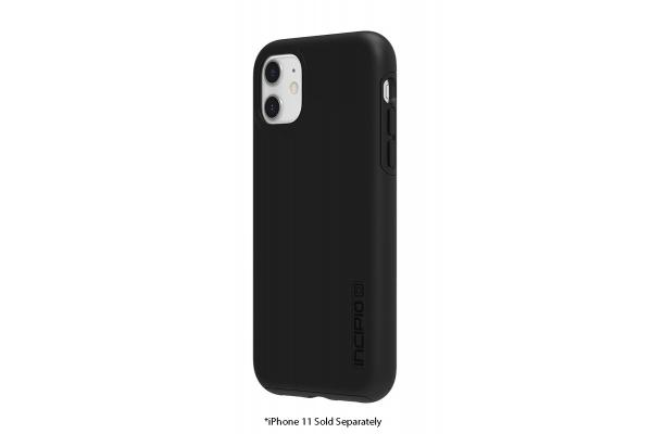 Large image of Incipio DualPro Black Case For iPhone 11 - IPH-1848-BLK