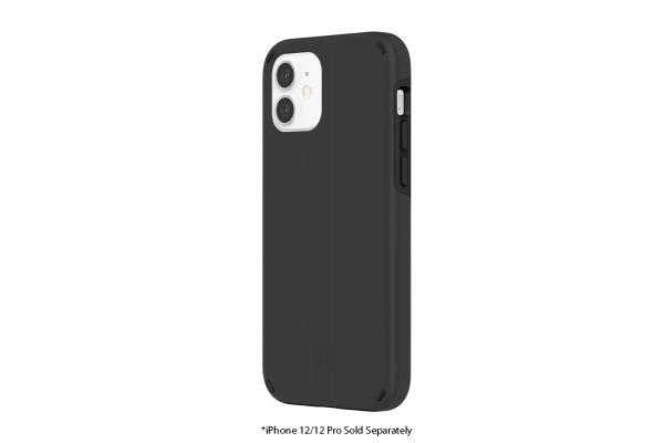 Large image of Incipio Duo Black Phone Case For iPhone 12 & iPhone 12 Pro - IPH-1895-BLK