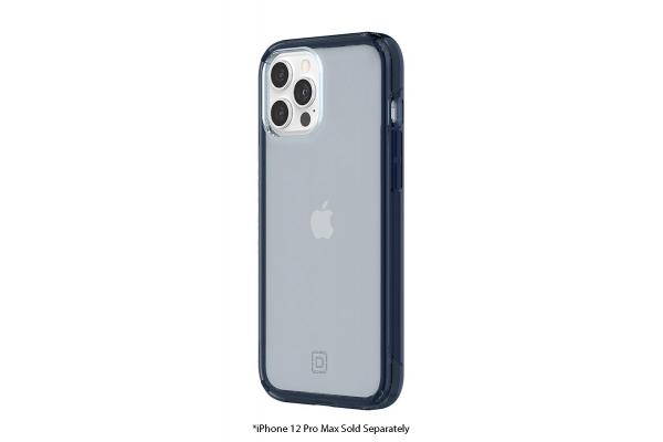 Large image of Incipio Slim Translucent Midnight Blue Case For iPhone 12 Pro Max - IPH-1888-MDNT