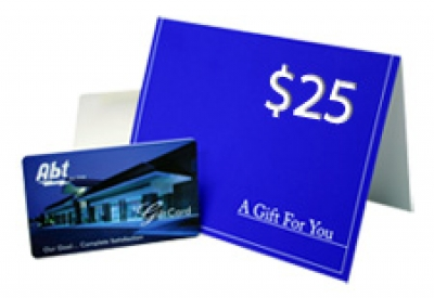 Abt Gift Card - INGIFT25 - Less than $50