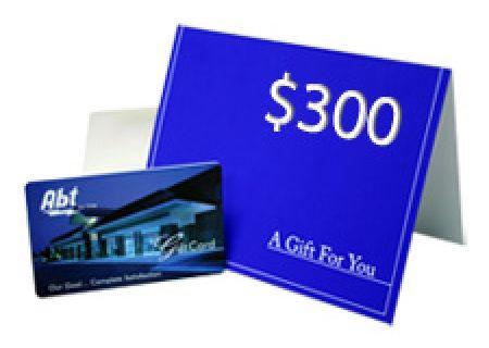 Abt Gift Card - INGIFT300 - Gift Cards