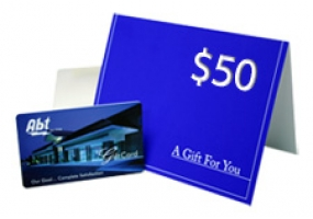 Abt Gift Card - INGIFT50 - Less than $50