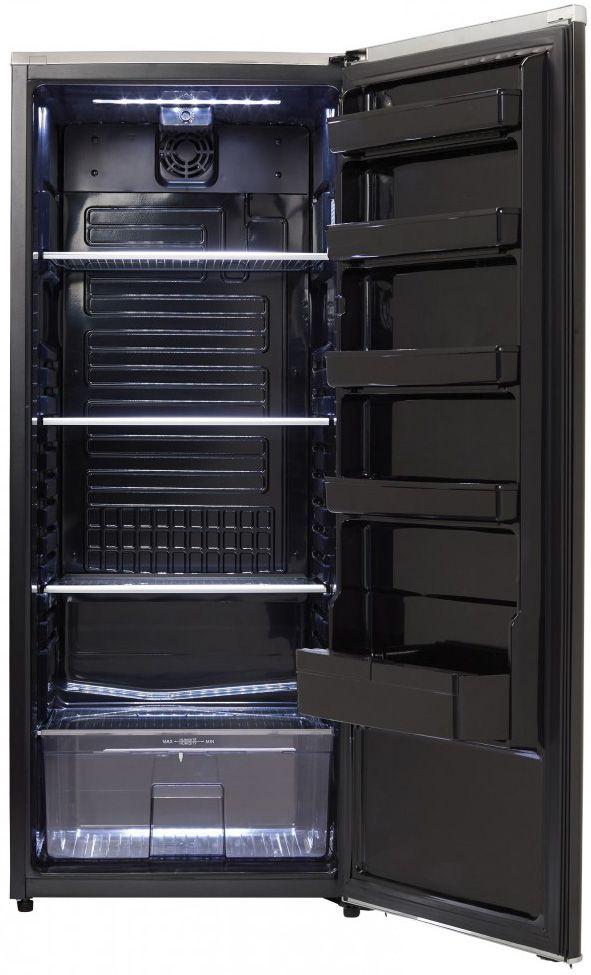 Danby 11 Cu Ft Black Freezerless Refrigerator Dar110a2mdb