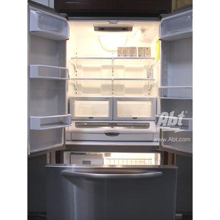 Kitchenaid French Bottom Freezer Refrigerator Kfco22evbl