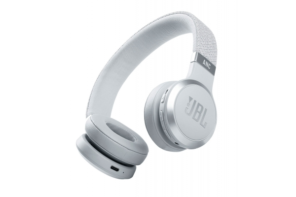 Large image of JBL LIVE 460NC White Wireless Noise Cancelling On-Ear Headphones - JBLLIVE460NCWHTAM