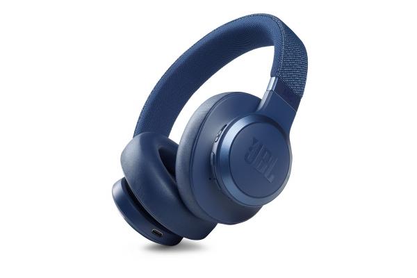 Large image of JBL LIVE 660NC Blue Wireless Noise Cancelling Over-Ear Headphones - JBLLIVE660NCBLUAM