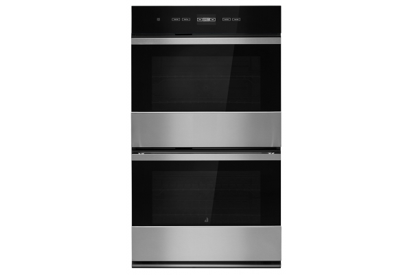 """Large image of JennAir NOIR 30"""" Stainless Steel Double Wall Oven With MultiMode Convection System - JJW2830IM"""