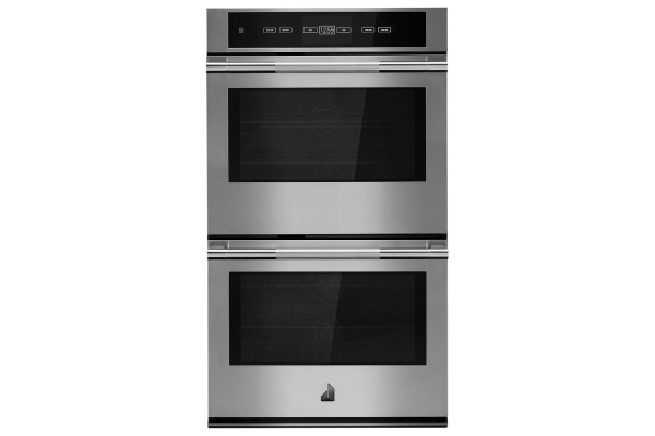 """Large image of JennAir RISE 30"""" Stainless Steel Double Wall Oven With V2 Vertical Dual-Fan Convection - JJW3830IL"""