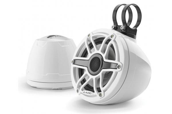 "Large image of JL Audio M6 Series 6.5"" Marine Enclosed Coaxial Speaker System (Pair) - 93410"