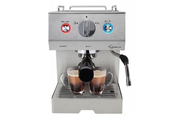 Large image of Capresso Cafe Select Professional Espresso & Cappuccino Machine - 12605