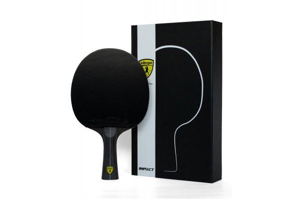 Large image of Killerspin Impact D5 Black Ping Pong Paddle - 303-52