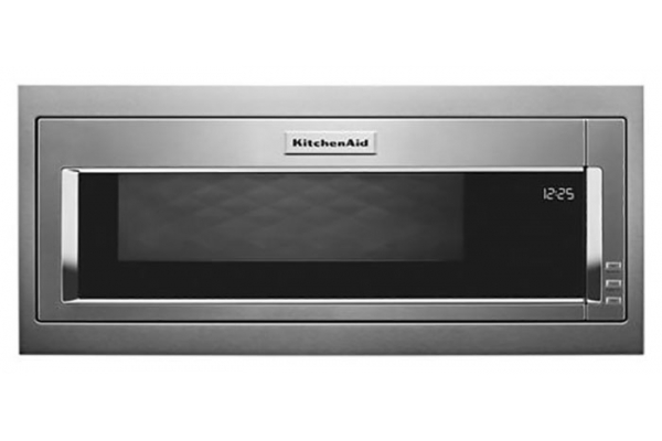 Large image of KitchenAid 1.1 Cu. Ft. Stainless Steel Built-In Microwave - KMBT5011KS