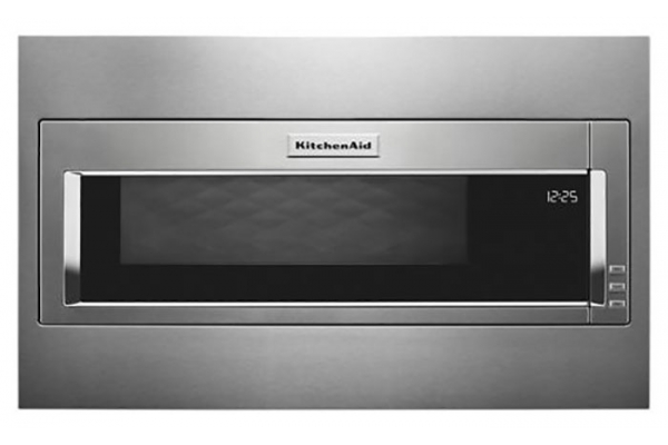 Large image of KitchenAid 1.1 Cu. Ft. Stainless Steel Built-In Microwave - KMBT5511KS