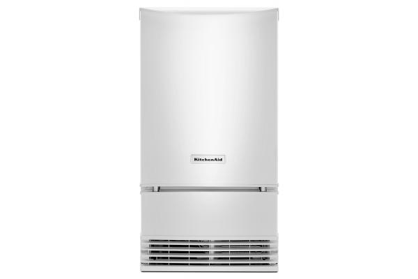 """Large image of KitchenAid 18"""" White Automatic Ice Maker - KUID508HWH"""