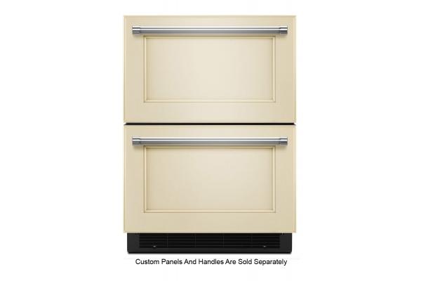 "Large image of KitchenAid 24"" Panel Ready Refrigerator/Freezer Drawer - KUDF204KPA"