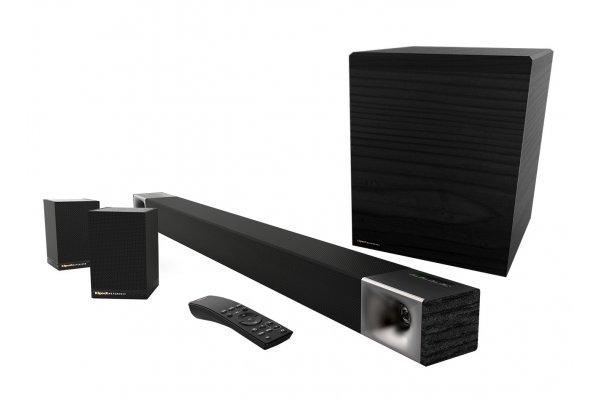 Large image of Klipsch Cinema 600 5.1 Surround Sound System - 1069452