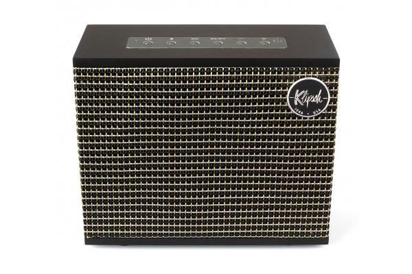 Large image of Klipsch Heritage Groove Matte Black High-End Portable Bluetooth Speaker - HERITAGEGROOVEMBK