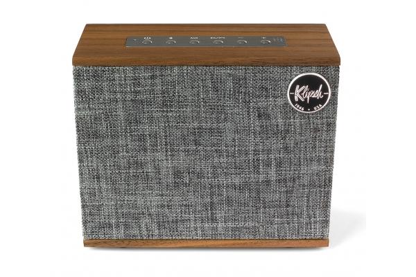 Large image of Klipsch Heritage Groove Walnut High-End Portable Bluetooth Speaker - HERITAGEGROOVEWAL