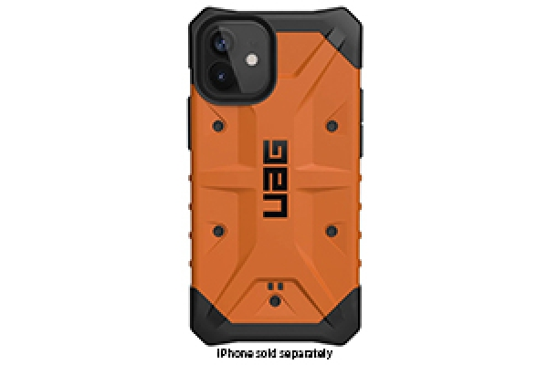 Large image of Urban Armor Gear Pathfinder Series Orange Case For iPhone 12 Mini - 112347119797