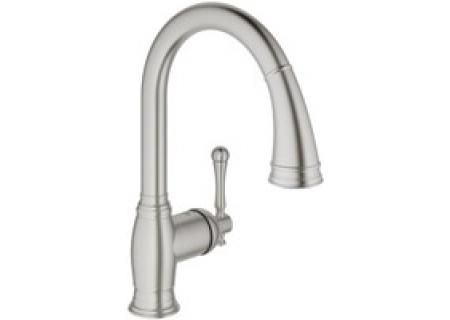 Grohe Bridgeford Supersteel Single Lever Faucet 33870dc2