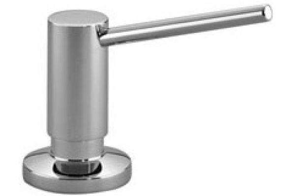 Large image of Dornbracht Chrome Deck-Mounted Liquid Soap Dispenser - 8243697000