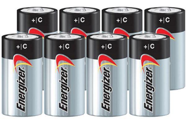 Energizer MAX C Alkaline Batteries - 8 Pack - C8PACK-E