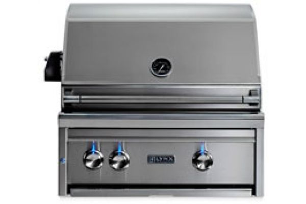 """Large image of Lynx Professional 27"""" Liquid Propane Built In Grill - L27R-3-LP"""