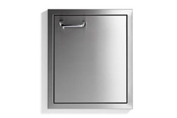 """Large image of Lynx 18"""" Stainless Steel Right-Hinge Classic Access Door - LDR18R"""