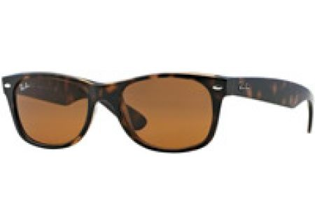 Ray-Ban New Wayfarer Light Havana Unisex Sunglasses - RB2132 710