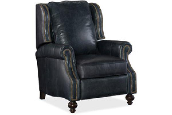 Large image of Hooker Furniture Living Room Drake Recliner - RC140-048