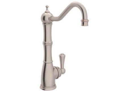 Rohl Satin Nickel Perrin & Rowe Kitchen Faucet - U.1621L/STN-2