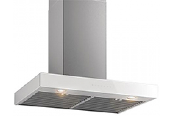 """Large image of Best Ispira 36"""" Stainless Steel Without Glass Chimney Range Hood - WCB3I36SBN"""
