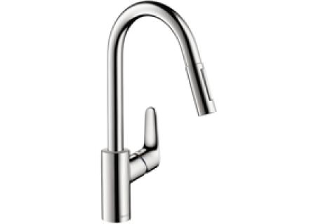Hansgrohe Chrome Focus HighArc Prep Kitchen Faucet - 04505000