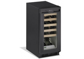 U-Line - 1115WC BLACK - Wine Refrigerators / Beverage Centers