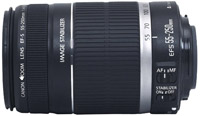 Canon EF-S 55-250mm f4-5.6 IS Telephoto Zoom Lens - 2044B002