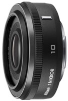 Nikon 1 Nikkor 10mm f/2.8 Wide Angle Camera Lens - 3306