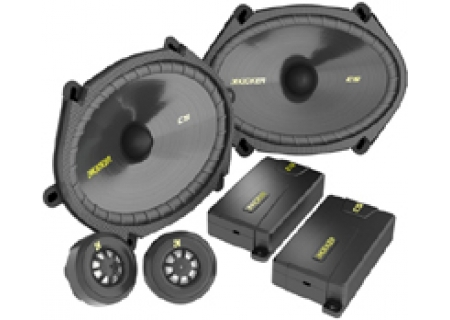Kicker - 40CSS684 - 6 x 9 Inch Car Speakers